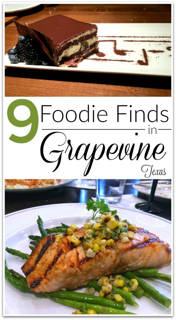 I was traveling again last week, and discovered some incredible foodie finds in Grapevine, Texas! One of the reasons I love to travel is being able to try new restaurants and specialities from different destinations.
