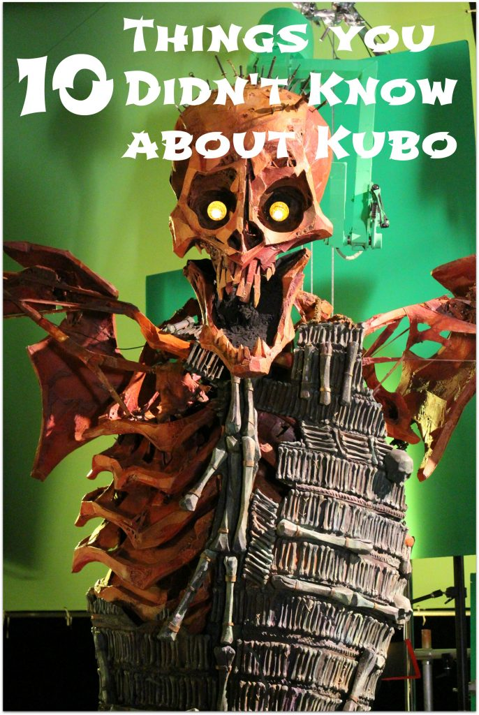 10 things you didn't know about Kubo and the two strings