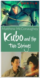Matthew McConaughey talks Kubo and the Two Strings