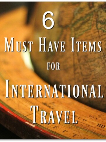 Preparing for a vacation out of the country can be stressful, so I thought it might be helpful to have a list of the must have items for international travel.