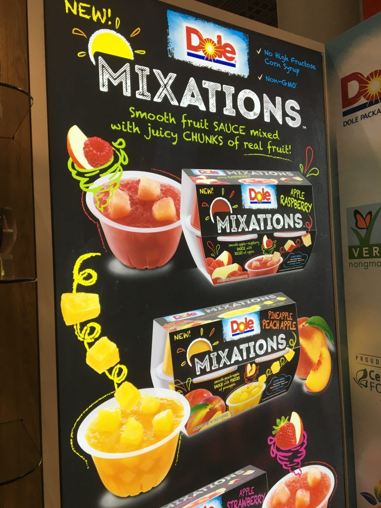 Have you tried DOLE Mixations yet? You've probably read about all the brands I met with when I was in New York for the Fancy Food show over the summer.