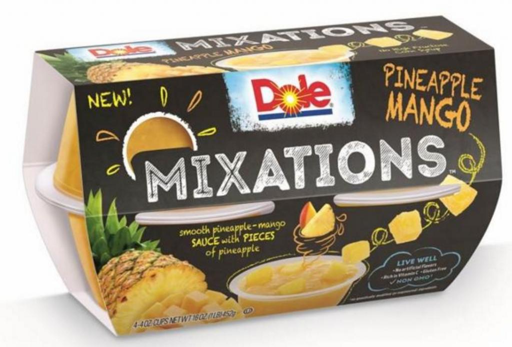 Pineapple mango mixations