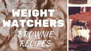 Who knew there were so many great recipes for Weight Watchers brownies? Having dessert while staying on a diet can be so hard.
