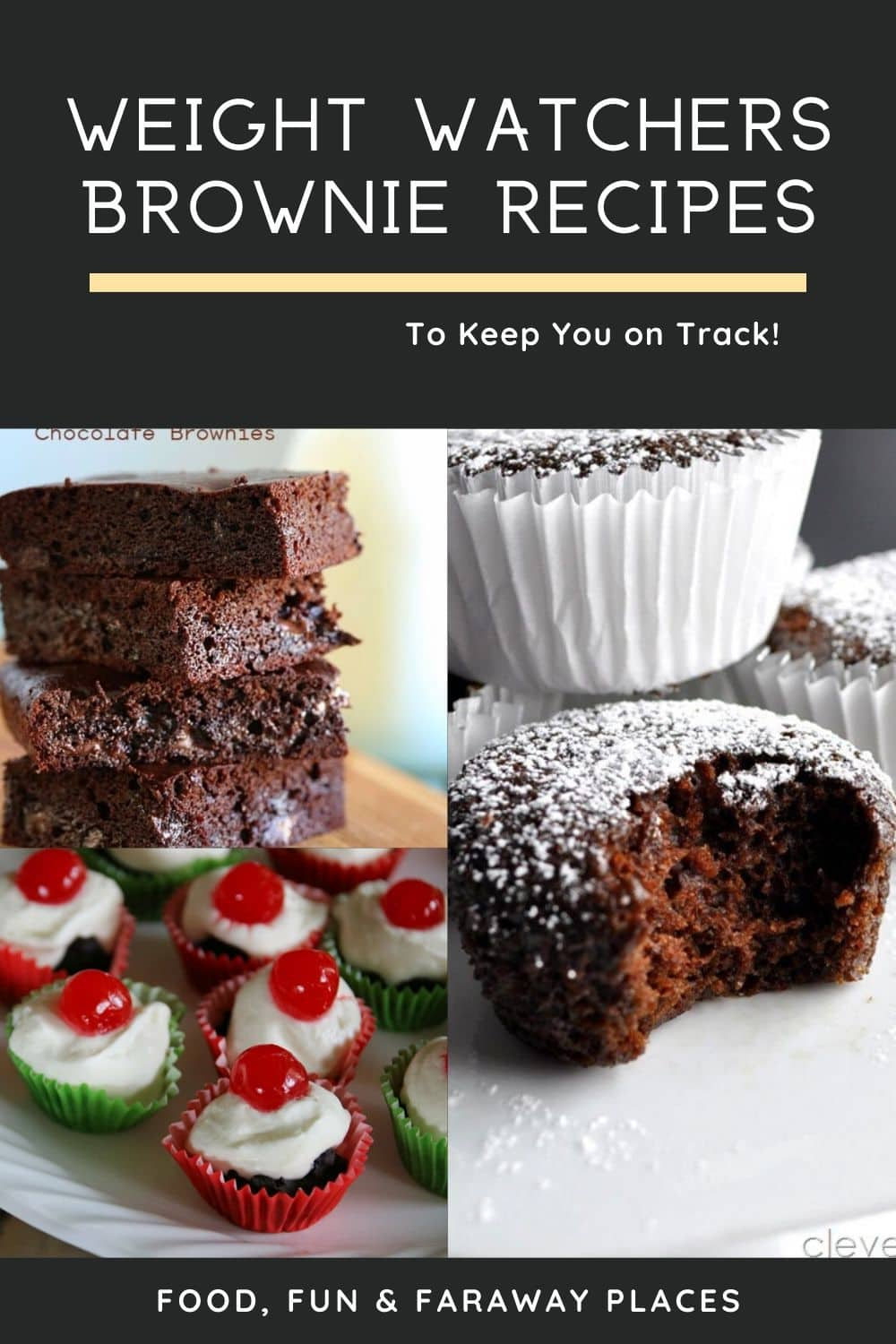 Having recipes for a variety of Weight Watchers brownies makes it easier to stay on the plan. Wanting something sweet and not being able to have it makes you feel deprived.