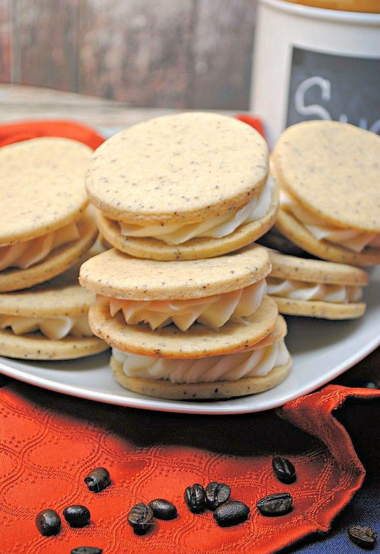 Frech vanilla cookies