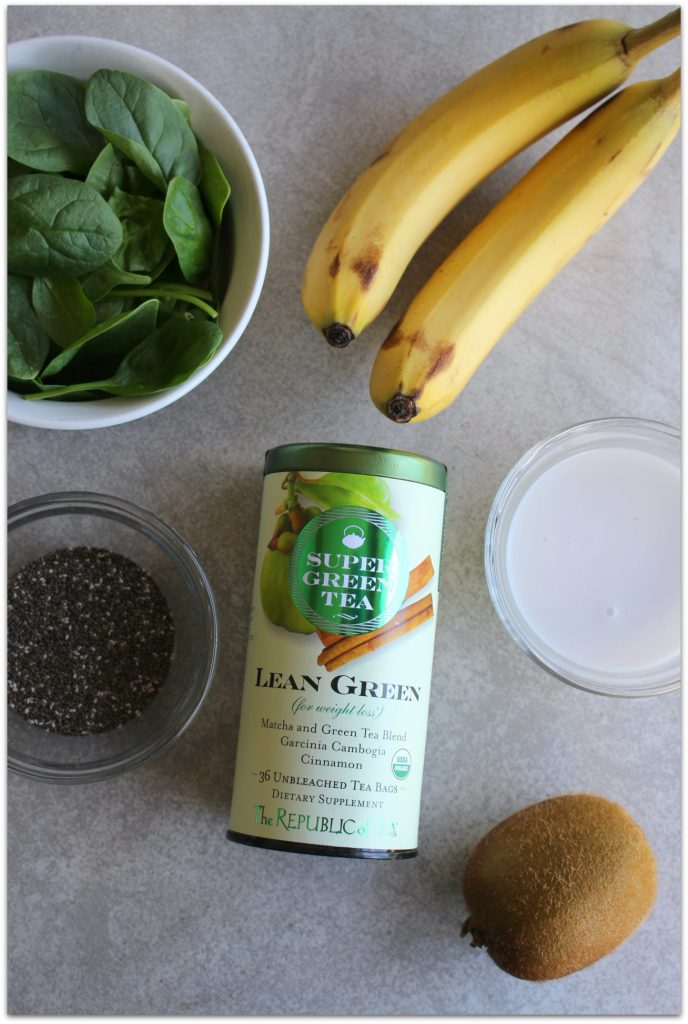 This Lean Green Tropical Smoothie is so delicious, you'll forget about all the healthy ingredients inside! And for those of us who are trying to stay fit and lose weight, I can't think of a better way to start the day