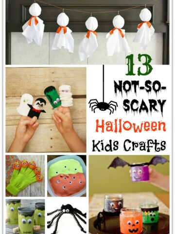 Have little ones excited for Halloween but not ready for the creepy stuff? I hear you! I've never been into the ghoulish, frightening side of Halloween.
