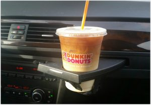Have you tried Dunkin' Donuts Salted Caramel yet? My daughter and I were craving something sweet and both needed a caffeine boost. I mentioned stopping by Dunkin' Donuts to her, and her face lit up.