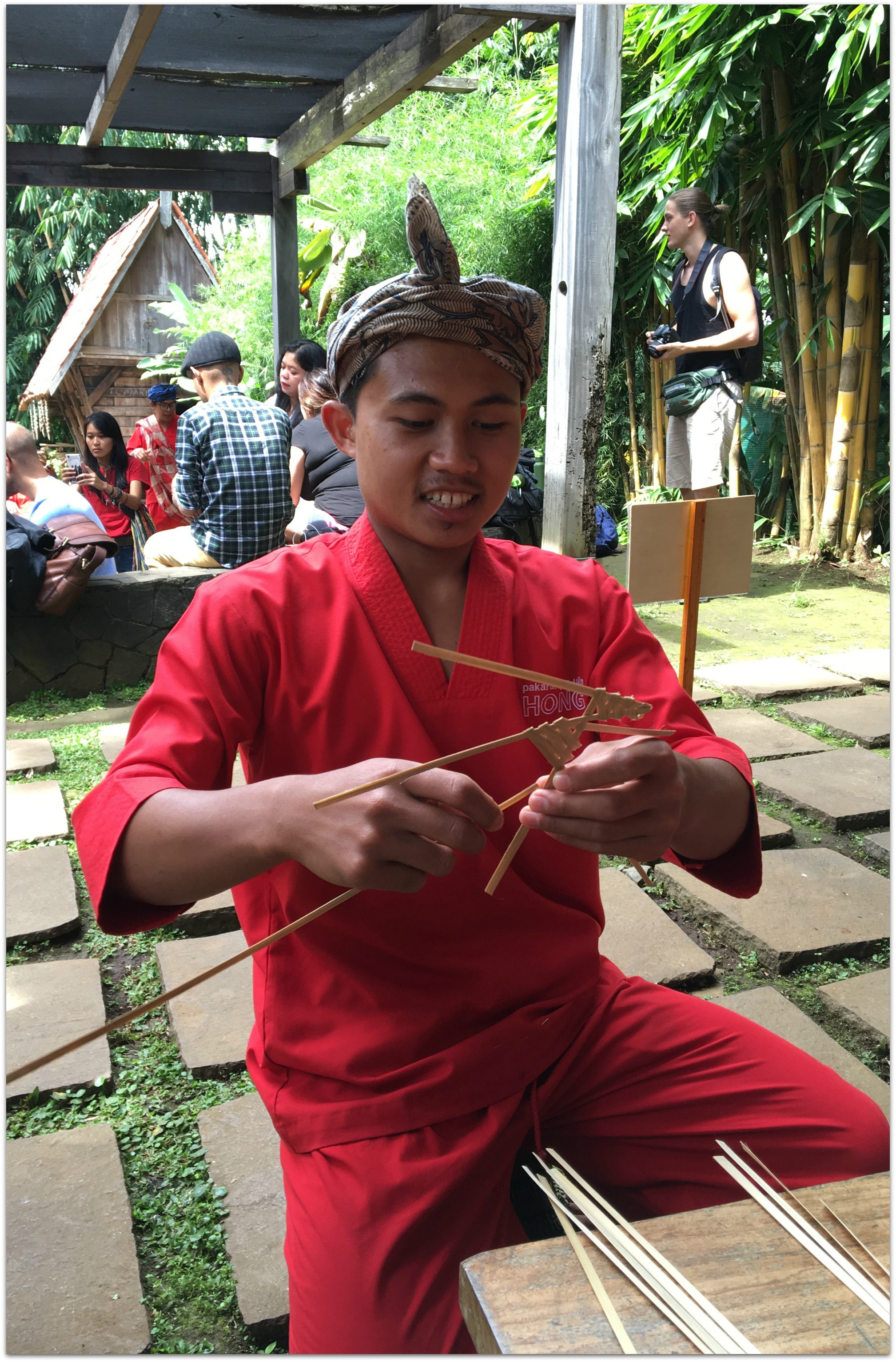 Indonesian puppet game