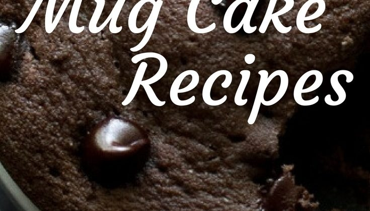 Mug Cake Recipes your Family will Devour