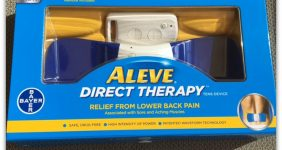 Pain Relief with Aleve Direct Therapy TENS Device