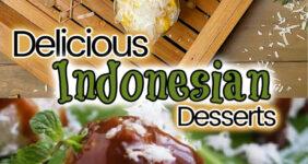 Indonesian dessert recipes for Pinterest