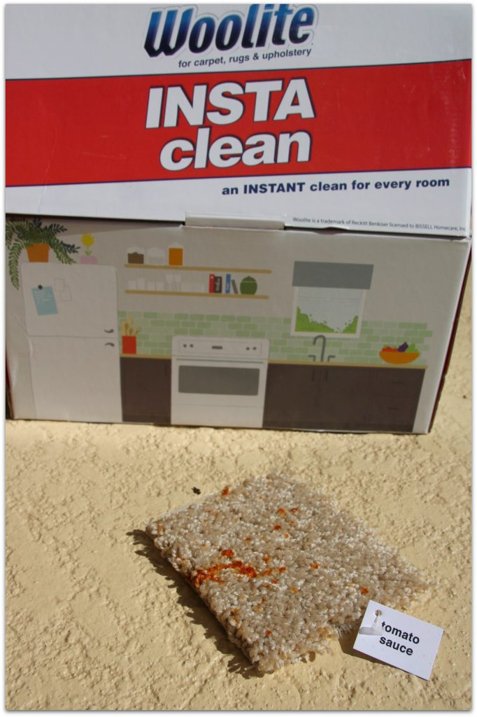 Finally, Woolite® INSTAclean is a real solution for soiled carpets.