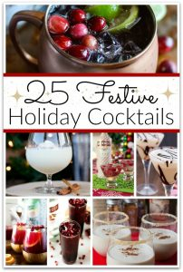 25 Festive Holiday Cocktails