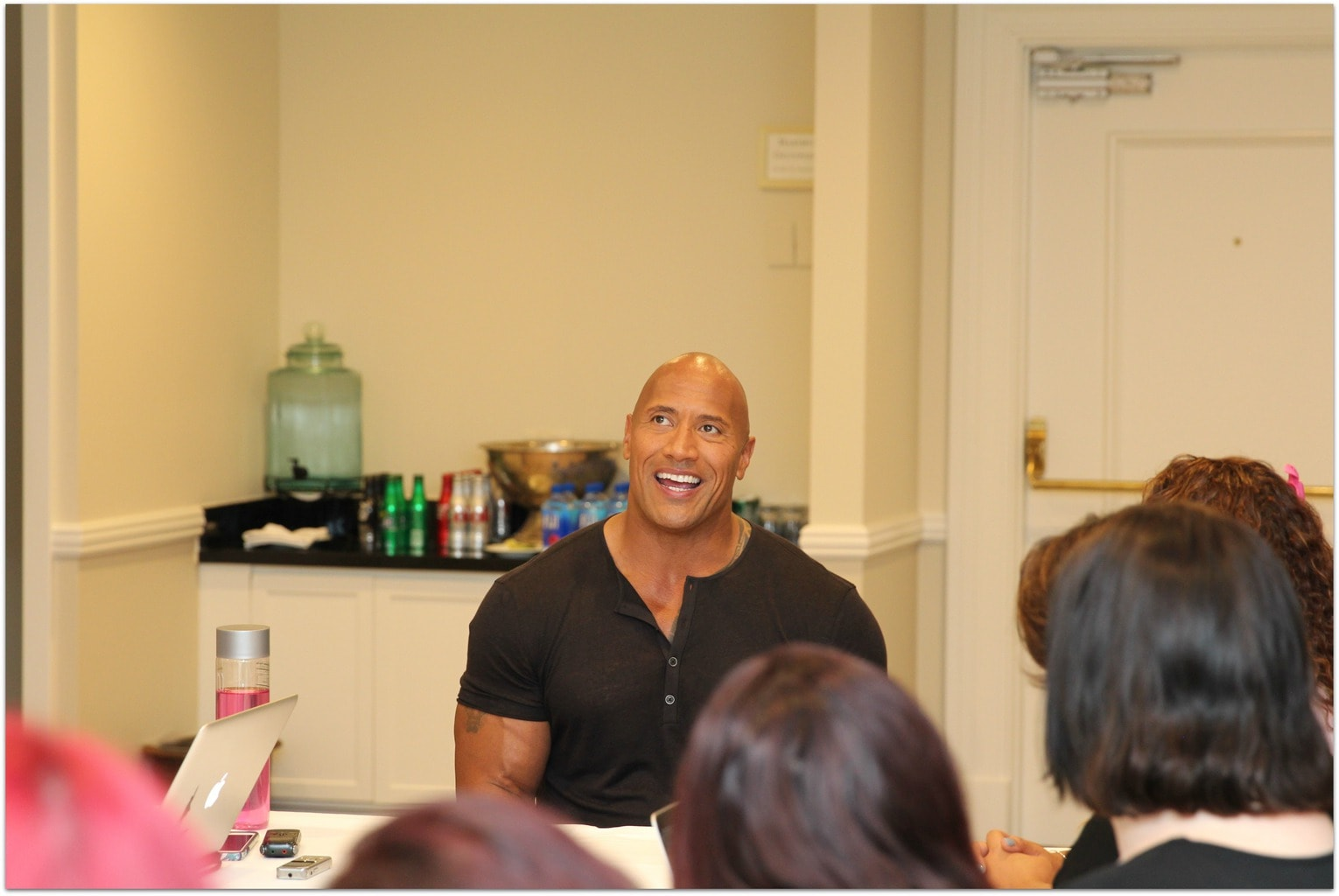 Exclusive Interview With The Rock Dwayne Johnson Food