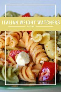 Italian Weight Watchers Recipes