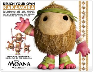 All New MOANA Activity Sheets (Perfect for a MOANA Party!)