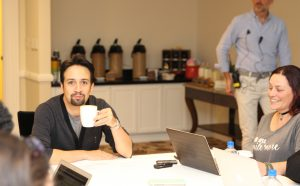 Exclusive Interview with Lin-Manuel Miranda for Moana