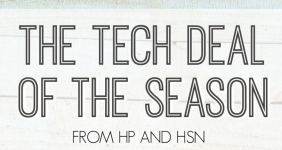 Tech Deal of the Season from HP and HSN