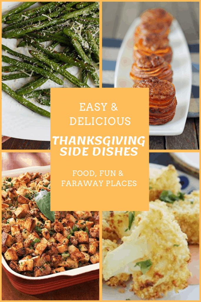 Save time this year. Here are some easy Thanksgiving side dishes that everyone will love! If you are on Weight Watchers, there are some Weight Watchers sides dishes on the list, too.  #ThanksgivingSides