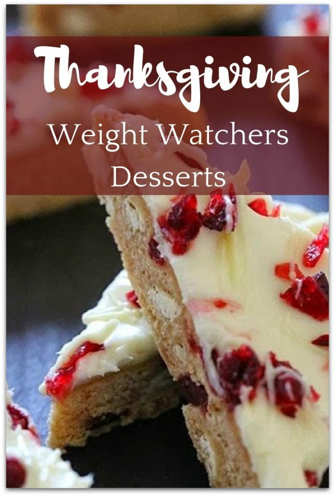 Were you surprised to see there were Weight Watchers Thanksgiving Desserts? You probably thought you would just have to blow your diet over Thanksgiving, but you can save calories and still enjoy the holiday.