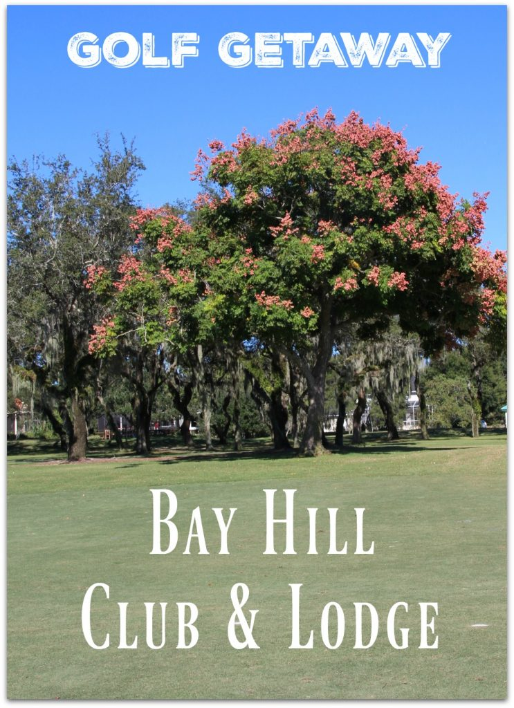 The words Golfer's Paradise are all my husband needs to hear to be excited about the weekend. Last month my husband, daughter and I spent a few days at Arnold Palmer's Bay Hill Club in Orlando.