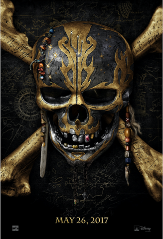 After six long years, Captain Jack Sparrow is back! The film that made huge fans of the drunken pirate played by Johnny Depp back in 2003 is set to release its fifth film, Dead Men Tell No Tales, and it looks fantastic. I think every one of these movies has been awesome, and I can't wait for May! Who's with me?