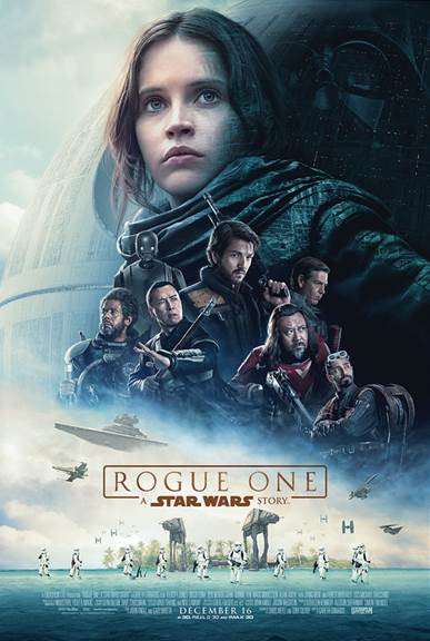 ROGUE ONE: A STAR WARS STORY follows a group of unlikely heroes in a time of conflict who band together on a mission to steal the plans to the Death Star,