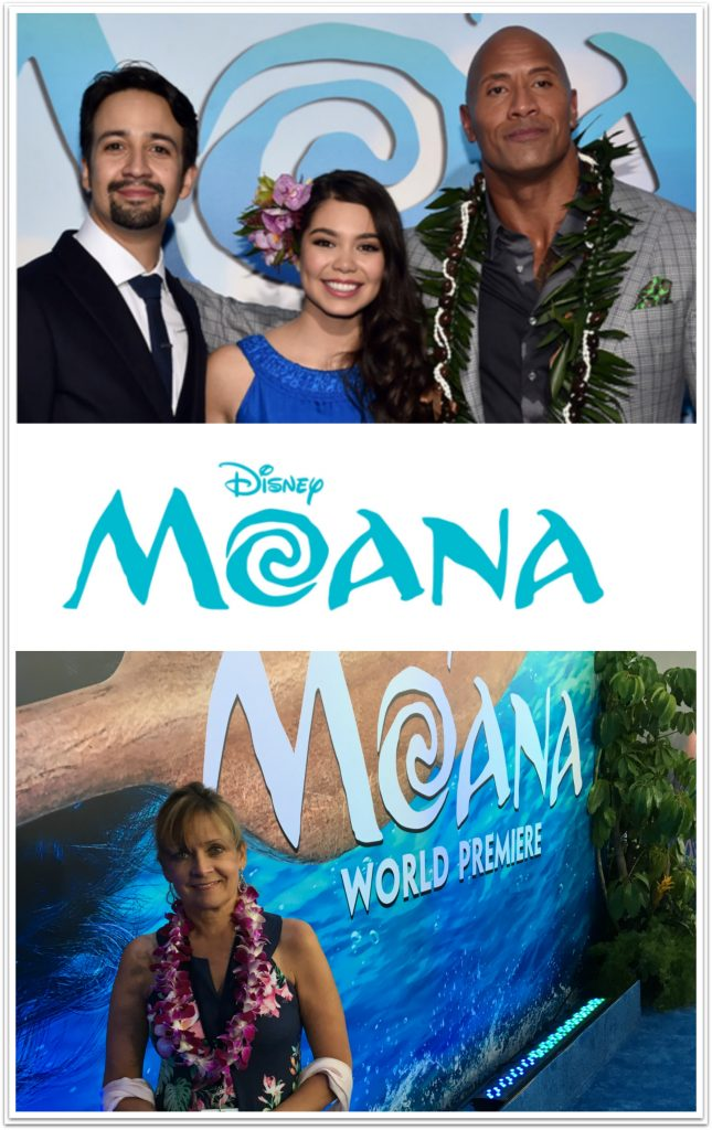 I am still reeling from having the opportunity to attend the Moana world premiere. I've been sharing about the newest film from Disney, Moana, for over two years now. The film was in the making for almost five years.