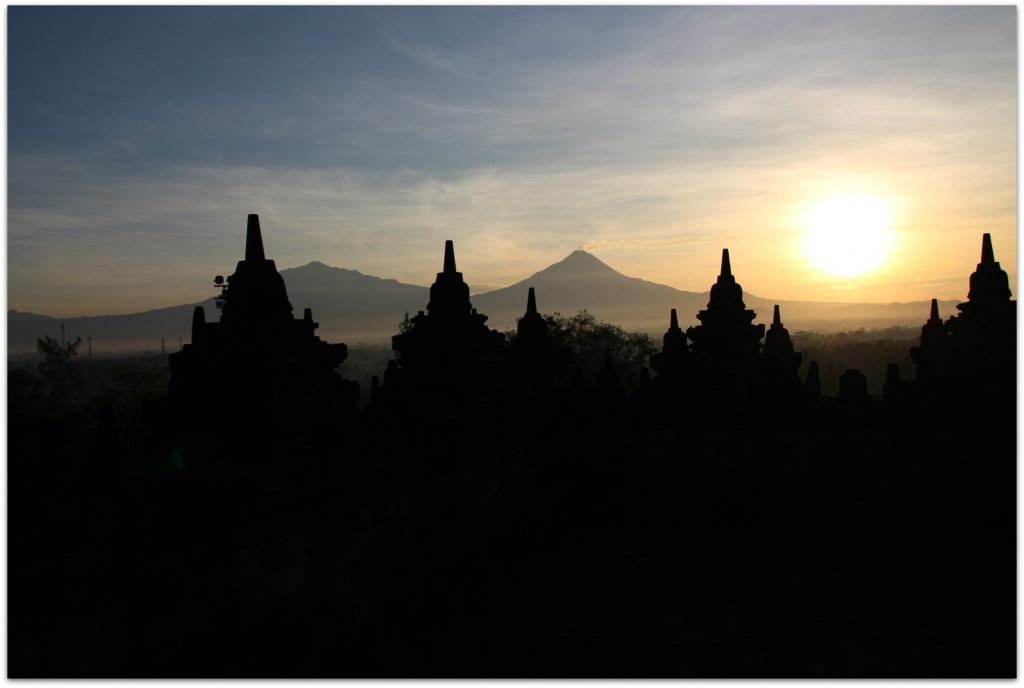Last month while in Indonesia, I was told we would be heading out very early to catch the sunrise at Borobudur Temple.