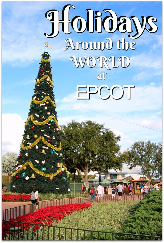 Our family has to visit the Disney Parks during the Christmas season, and this year we spent the day celebrating Holidays Around the World at EPCOT.