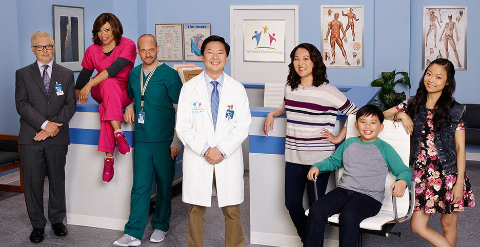 Have you seen ABC's new hit show Dr. Ken? The hilarious show about a medical doctor and his psychologist wife who not only live together, but work together every day, will leave you in stitches!
