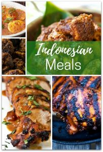 20 Wonderful Indonesian Meals