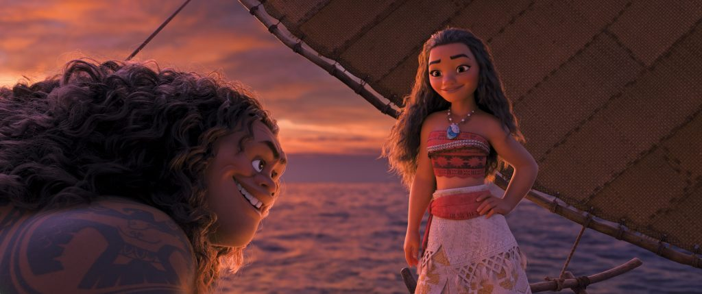 I was so excited to have the opportunity to interview the directors of Moana, John Musker and Ron Clements.