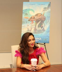 Exclusive Interview with Nicole Scherzinger, Sina in Moana