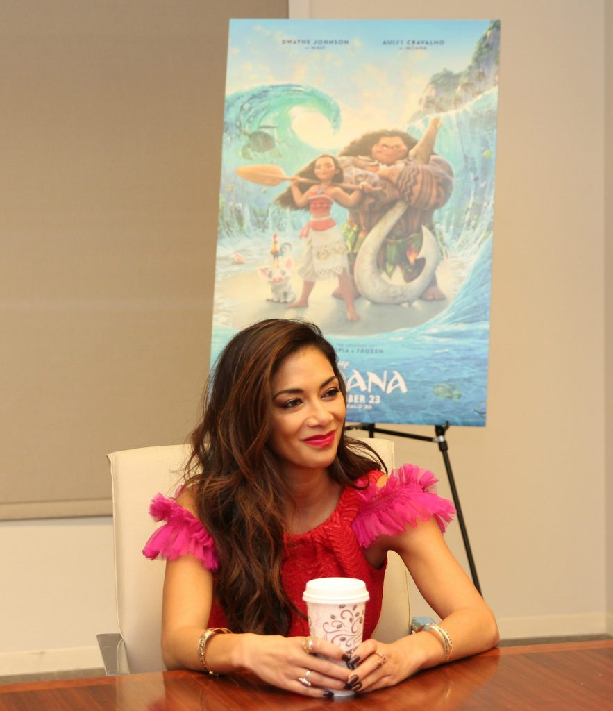 No matter what you do in life, you cannot ever take any of it for granted. ~ Nicole Scherzinger I hope you've been following along with all the interviews and fun from the Moana event!