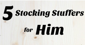 5 Inexpensive Stocking Stuffers for Him & $50 AMEX Giveaway!
