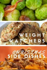 I've got a collection of the most popular Weight Watchers Christmas side dishes to help you get through those holiday dinners. By using the Weight Watchers points system, we can eat what we want as long as we keep track,