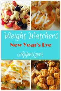 Why wait for New Year's Day to start your weight loss program when you can start with these Weight Watchers appetizers on New Year's Eve?