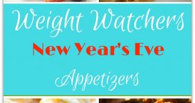 Last Minute Weight Watchers Appetizers for New Year's Eve