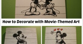 How to Easily Decorate Your Home with Movie Themed Art & $100 GC Giveaway!