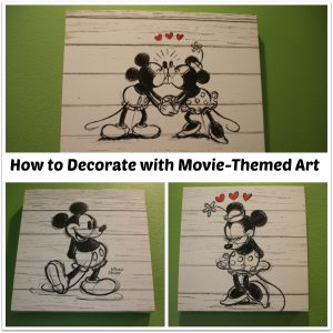 How to Easily Decorate Your Home with Movie Themed Art