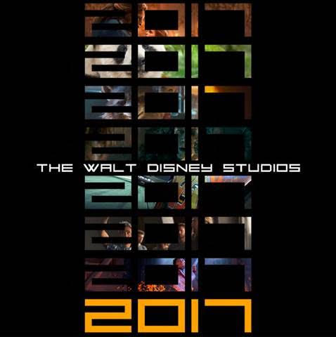 2017 Disney Movie Slate