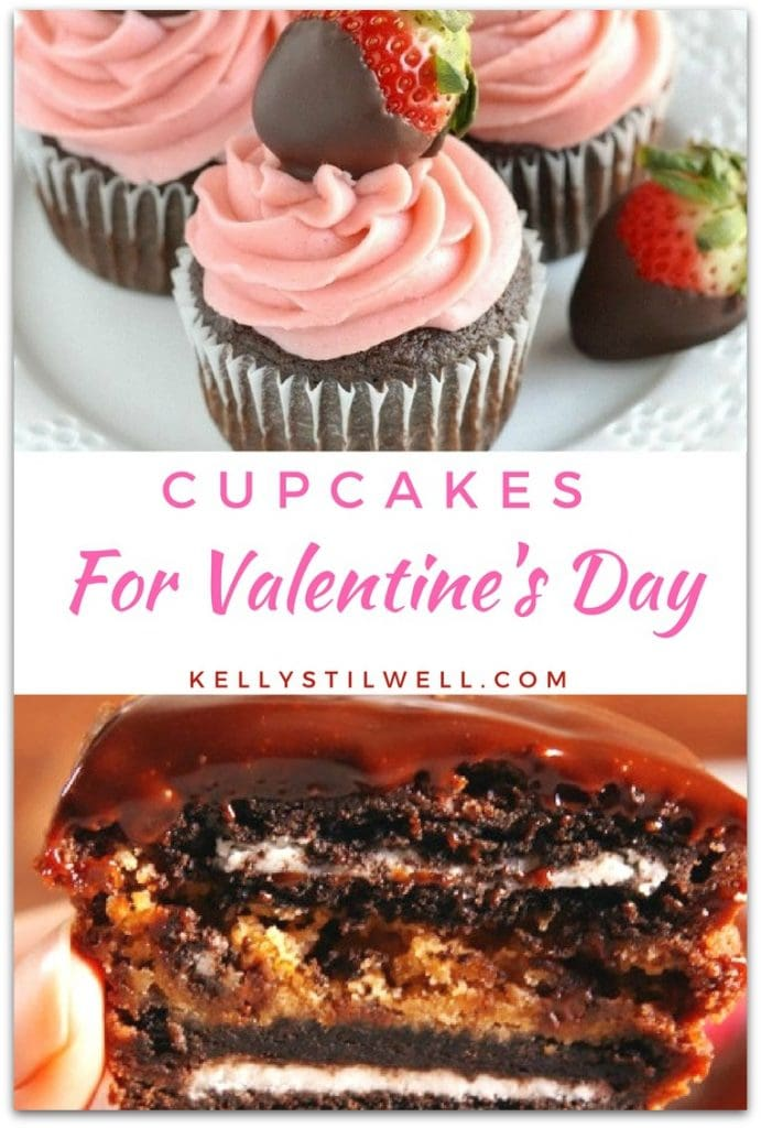 If you're looking for a dessert for a party, we've got a round-up of the best Valentine's Day cupcakes on the planet! Cupcakes are just the perfect party dessert because you don't need utensils, and one cupcake is just the right serving.
