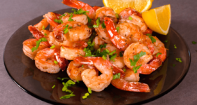 The Best Lemon and Herb Shrimp Made for Weight Watchers