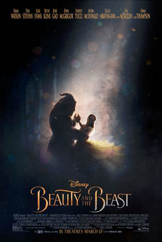 "The story and characters audiences know and love come to spectacular life in the live-action adaptation of Disney's animated classic ""Beauty and the Beast,"" a stunning, cinematic event"