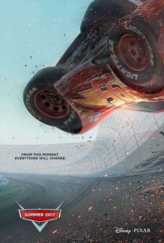 Blindsided by a new generation of blazing-fast racers, the legendary Lightning McQueen (voice of Owen Wilson) is suddenly pushed out of the sport he loves. To get back in the game, he will need the help of an eager young race technician, Cruz Ramirez (voice of Cristela Alonzo), with her own plan to win, plus inspiration from the late Fabulous Hudson Hornet and a few unexpected turns. Proving that #95 isn't through yet will test the heart of a champion on Piston Cup Racing's biggest stage!