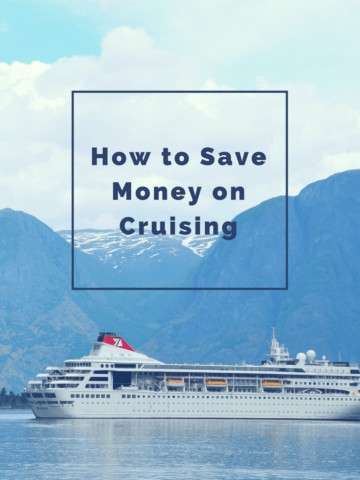 Did you know there is an easy way to save money on cruising if you're willing to be a little flexible?