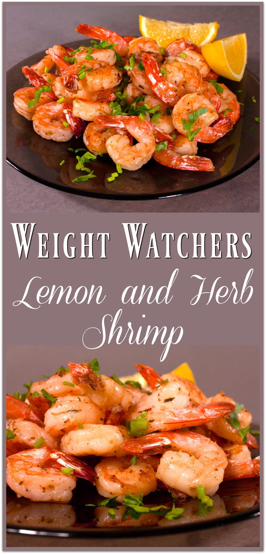 I am so excited to bring you this Lemon and Herb Shrimp dish made for Weight Watchers! If you are looking for a delicious lunch recipe that is filling but fits in the Points plan, you've come to the right place! This can be used as a dinner recipe, too! Just add some vegetables and a salad!