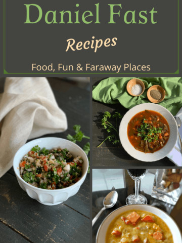These Daniel Fast lunch and dinner recipes might be just what you need to jumpstart your new year.